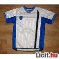 Eladó Fehér /kék focis póló,méret:140