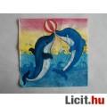 Eladó szalvéta - delfinek