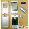 Nokia N90 komplett ház, ezüst szürke színben