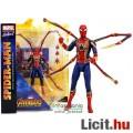 Eladó 16-18cm-es Marvel Select Pókember Iron Spider-Man figura - Bosszúállók Végtelen Háború / Infinity Wa