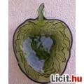 Eladó *Szőlőfürt alakú zöld üveg tál