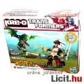 Transformers - Kre-O Trailcutter minifigura vs Grimwing építhető Predacon robot sárkány figura szett