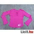 Eladó Benetton Pink h.ujjú lánypóló kb. 152/158-as