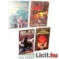 Eladó Használt könyv - 4db Scifi - Pegazus nyergében, Vámpírok és Csillagok és Fekete Sugár Antológia, Láz