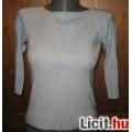 Eladó halványkék kötött pulóver,méret: S