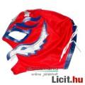 Eladó Pankráció maszk - Rey Mysterio piros-kék felvehető Pankrátor Maszk - Lucha / Luchardor mexikói típus