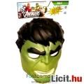 Marvel Bosszúállók Hulk játék maszk / álarc állítható pánttal - Új, Hasbro