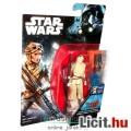 Star Wars figura - Rey - Rogue One / Zsivány Egyes széria, Jakku sivatagi fejkendős megjelenés - 5 p