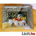 Eladó Goebel porcelán tálka Paul Cezanne gyümölcsös csendéletével díszítve