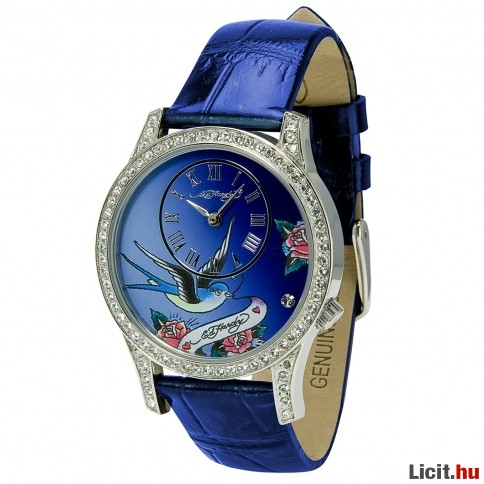 Licit.hu Eredeti Ed Hardy EL-BL Elizabeth Blue Női óra Az ingyenes ... 86894e4768