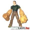 Eladó 14cmes Pókember figura - Homokember / Sandman figura kihúzható kalapácsöklökkel, csom. nélkül