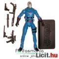 Eladó GI Joe figura - Cobra Commander figura hangtompítós pisztollyal, talppal és extra fegyverekkel - Has