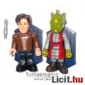 Eladó Ki vagy, Doki? / Doctor Who - Minifigura Kollekció - 11. Doktor és Silurian General figura - 2db fig
