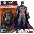 Eladó 16cm-es Batman figura - DC Rebirth Batman figura szürkésfekete ruhában exta-mozgatható végtagokkal -