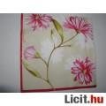 szalvéta - rózsaszín virág