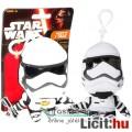 Star Wars plüss figura - 9cmes Rohamosztagos / Stormtrooper beszélő mini plüss játék figura - Új Csi