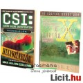 Eladó Használt könyv - 2db CSI Helyszínelők - Hideglelés, X-Akták / X-Files - régi sorozat regény