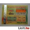 BKV 30 Napos Tanuló Bérlet 2007 Március (Gyűjteménybe) (2képpel :)