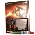 Vasember / Iron Man figura - Mark 40 fekete Shotgun páncélos miniatűr gyűjtői figura talapzattal - D