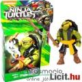 Tini Nindzsa / Ninja Teknőcök 4-5cmes Michelangelo / Mikey figura Nuncsaku fegyverrel - Mega Bloks m