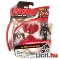 mini Bosszúállók figura - 6cmes Warmachine Vasember / Iron Man figura robot ellenség kiegészítővel -
