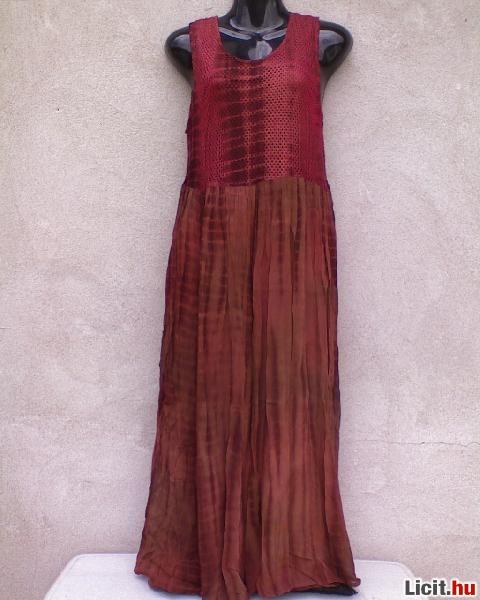 bb2d3fe345 Licit.hu * Rozsdabarna indiai maxi kánikula ruha kb.S-es Az ingyenes ...