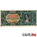 Eladó 100.000 Milpengő  1946