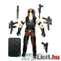 Eladó GI Joe figura - Zartan V3 Cobra katona figura felszereléssel és talppal - vintage testű Hasbro G.I.