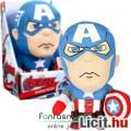 Eladó 23cm-es Marvel Bosszúállók Amerika Kapitány plüss játék figura - beszélő Avengers Captain America na