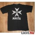 Eladó Fekete pamut MÁLTA póló,méret:M