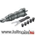 Eladó Adapter klt. fúrógéphez, popszegecsekhez, 2,4-6,4mm