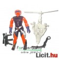 Eladó GI Joe Vintage figura - Annihilator v1 1989 figura fegyverrel és sérült pöckű-propellerű hátzisákkal