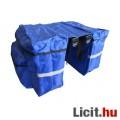 Kerékpáros túratáska, kerékpáros táska kék