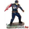 Avengers / Marvel Bosszúállók figura - 8cmes Captain America / Amerika Kapitány mini szobor Marvel f