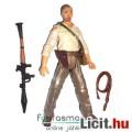 Eladó Indiana Jones - 10cm-es Indiana Jones figura ősz hajjal és rakétavetővel - Kristálykoponya királyság