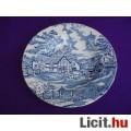Eladó *English Style kék jelenetes porcelán mélytányér