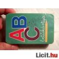 ABC Betűkártya Új Bontatlan (Magyar) retro kb.1995 (3kép+játékszabály)