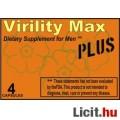 Eladó Virility Max Plus Potencianövelő Férfiaknak 4 db