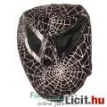 Eladó Pankrátor maszk - fekete Pókember felvehető maszk orrnyílással - mexikói Lucha Libre Pankráció maszk
