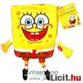 Eladó 26cmes Spongya Bob beszélő plüss játék figura - interaktív Spongebob / Spongyabob világító szemekkel