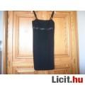 Eladó Új40 női alkalmi ruha fekete zsorzsett
