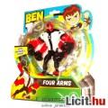 Eladó Ben 10 figura - 13cmes Csupakéz / Fourarms négykarú idegen játék figura mozgatható végtagokkal - Új