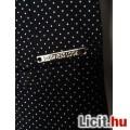 Orsay sötétkék pöttyös business look ruha + blézer kosztüm külön is!