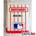 Matchbox MLB-90-2 (MB38) Ritka (1990) Boston Red Sox Bontatlan 4képpel