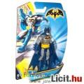 Batman figura - 10cmes kék-szürke Batman klasszikus mesehős játék figura 5 ponton mozgatható - DC Ma