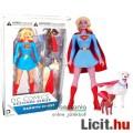 Eladó 18cm-es DC Comics Igazság Ligája figura Supergirl figura - Krypto Superdog kutya és Streaky Supercat