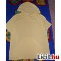 Sárga kapucnis póló L-es méret
