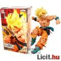 Eladó 16-18cm-es Dragon Ball Z / Dragonball figura - Son Goku Super Saiyan sárga hajjal és tépett ruhával