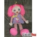 Eladó Eredeti Simba édes pink hajú rongy baba Hello Kitty ruhában - 52 cm