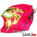 Eladó Pankráció maszk - Shocker piros-zöld felvehető Pankrátor Maszk - Lucha / Luchardor mexikói típusú pa